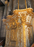 Royal Chapel organ Versailles Palace France Royalty Free Stock Image