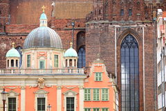 Royal Chapel and St. Mary's Basilica Gdansk Poland Royalty Free Stock Image