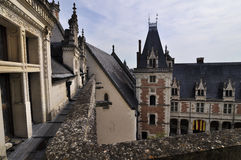 Royal Chateau of Amboise Stock Photos
