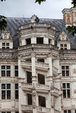 The Royal Chateau de Blois. Spiral staircase in the Francis I wing royalty free stock image