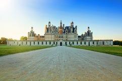 The royal Chateau de Chambord, France. Stock Image