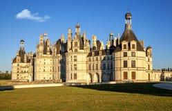 The royal Chateau de Chambord, France. Royalty Free Stock Image