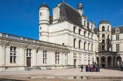 The royal Chateau de Chambord Stock Photo