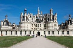 The royal Chateau de Chambord Stock Image