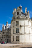 The royal Chateau de Chambord Stock Images