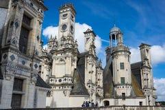 The royal Chateau de Chambord Royalty Free Stock Image