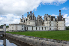 The royal Chateau de Chambord Royalty Free Stock Photography