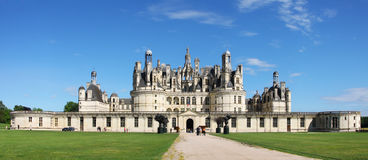 Royal chateau Shambord, France Stock Image