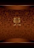 Royal Chocolate Background Royalty Free Stock Photos