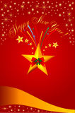 Royal Christmas card Stock Image