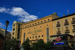 Royal Cinema, The old buildings in Madrid, Spain Stock Photo