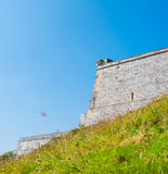 Royal Citadel in Plymouth Royalty Free Stock Photography
