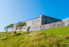 Royal Citadel in Plymouth Stock Photo