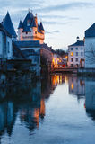 The Royal City of Loches (France). Stock Photo