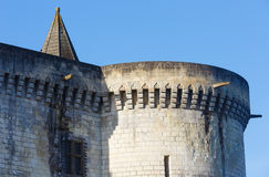 The Royal City of Loches (France). Stock Images