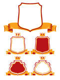 Royal classic emblems. Stock Images
