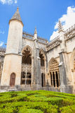 Royal cloister of Batalha monastery Stock Photography