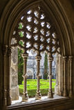 Royal Cloister of the Batalha Monastery Stock Images