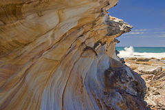 Royal Coast National Park near Sydney. In Australia royalty free stock image