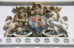 Royal Coat of Arms stock images