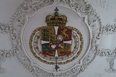 Royal Coat of Arms Stock Image