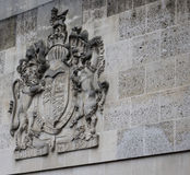 Royal Coat of Arms. The Royal Coat of Arms of the United Kingdom Stock Photos