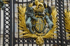 Royal coat of arms of the United Kingdom Royalty Free Stock Image