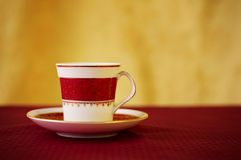 Royal coffee breack Stock Images