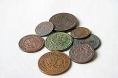 Royal coins Royalty Free Stock Photography