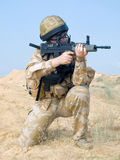 Royal commando Stock Image