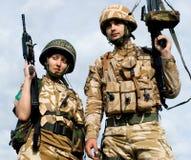 Royal Commandos stock image