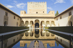 The Royal Complex of Alhambra Stock Images