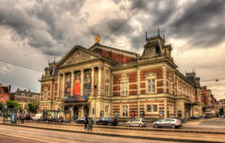 Royal Concertgebouw, a concert hall in Amsterdam Stock Image
