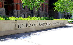 The Royal Conservatory of Music Royalty Free Stock Photography