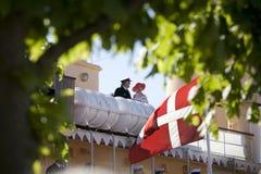 The royal couple of Denmark Royalty Free Stock Photo