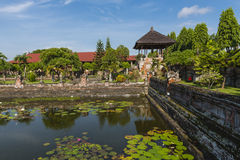 The Royal Court of Justice Compound. A section of the  Kerta Gosa, or the Royal Court of Justice, Bali Indonesia Stock Image