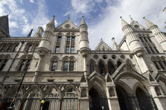 Royal Court of Justice London Royalty Free Stock Photography