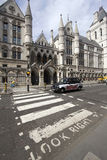 Royal Court of Justice London Royalty Free Stock Photos