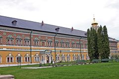 Royal courts in the Holy Trinity Sergius Lavra. Russia Stock Images