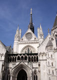Royal Courts Of Justice. A photograph of the royal courts of justice based in central London Stock Photos