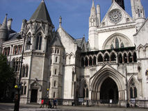 Royal Courts Of Justice 2. A photograph of the royal courts of justice based in central London Royalty Free Stock Photo