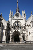 Royal courts of Justice Royalty Free Stock Photo