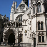 Royal courts of Justice Royalty Free Stock Photos
