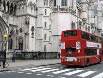 Royal Courts of Justice, London Royalty Free Stock Photos