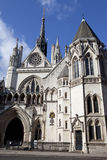 The Royal Courts of Justice in London Royalty Free Stock Image