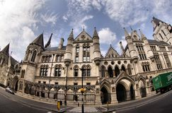 Royal Courts of Justice in London Stock Images