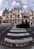 Royal Courts of Justice in London. England Royalty Free Stock Photography