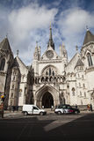 The Royal Courts of Justice in London.  Royalty Free Stock Image