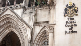The Royal Courts of Justice, London. Stock Images
