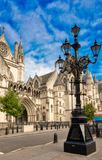 The Royal Courts of Justice, London Royalty Free Stock Image